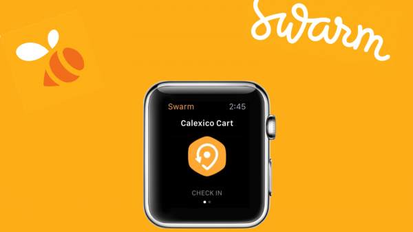 Foursquare now lets you check in from your wrist with Swarm for Apple Watch