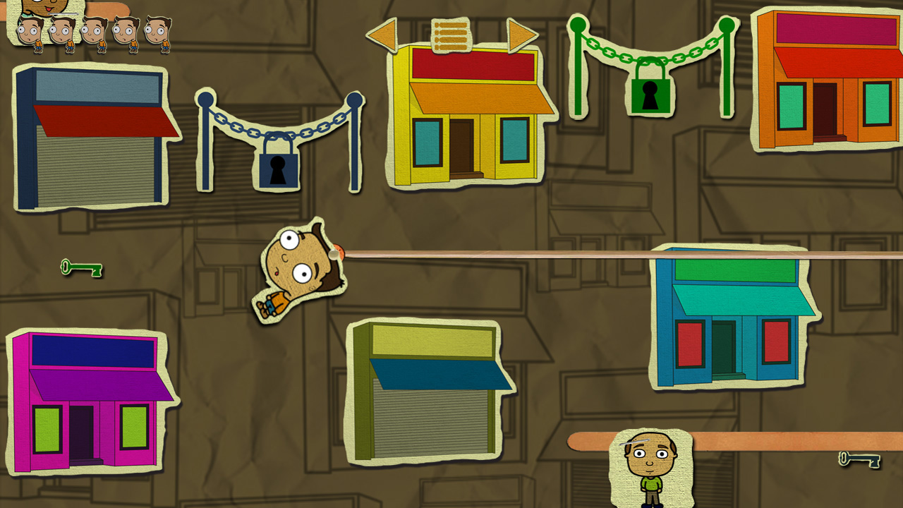 Help Igor find his way out of the Third Floor in this new game book