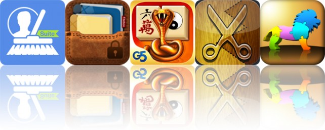 Today's apps gone free: CleanUp Suite, Secure Filebox, Mahjong Artifacts and more