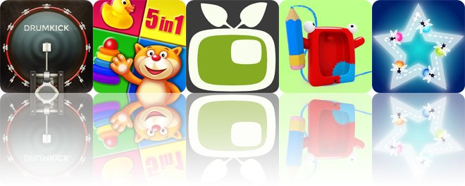 Today's apps gone free: DrumKick, Playroom, Video in Video and more