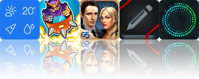 Today's apps gone free: Weathercube, Slambots, Special Enquiry Detail and more