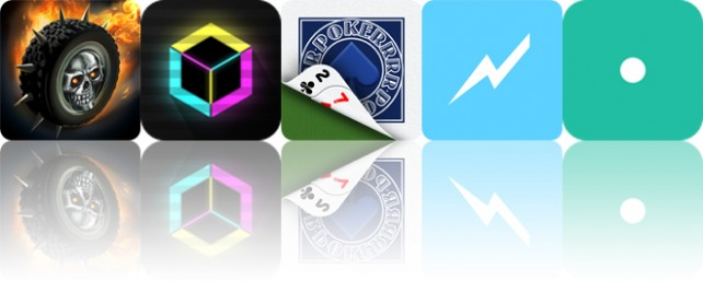 Today's apps gone free: Death Rally, Magnetized, Pokerrrr and more