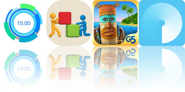 Today's apps gone free: Get Moving, Color Tower, The Island: Castaway and more