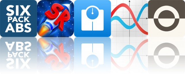 Today's apps gone free: Men's Six Pack Abs, SimpleRockets, Pocket Scale and more