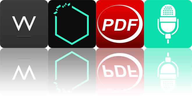 Today's apps gone free: Writedown, Sapphire Cell, PDF Reader and more