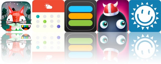 Today's apps gone free: Toca Nature, Calendate, iAchievement and more
