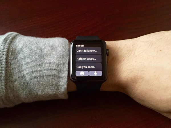 The awkward truth behind automated messaging on iOS and Apple Watch