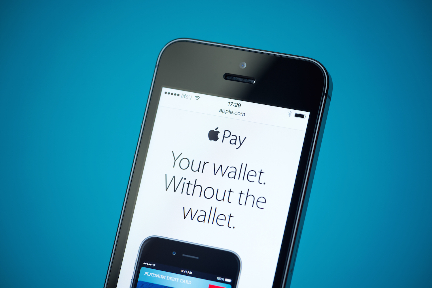 Apple Pay Announce On Apple Iphone 5S
