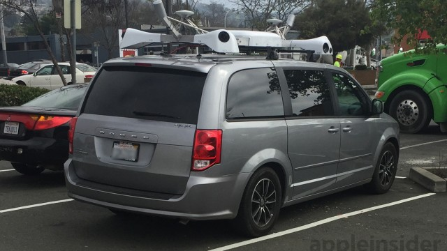A new report says the 'mystery' Apple vans are capturing images for a new mapping database