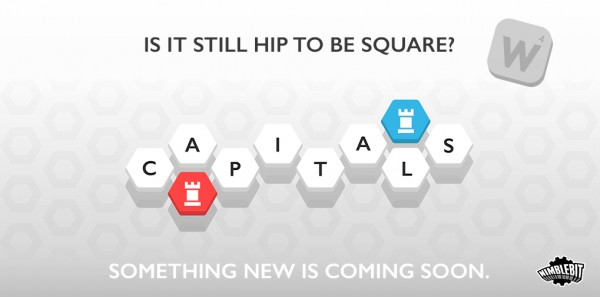 The latest word game from NimbleBit, Capitals, will officially arrive next week