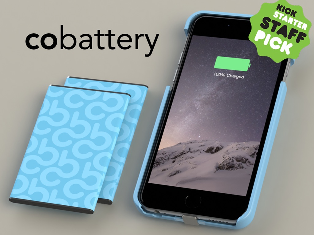 CoBattery lets you cut the power cord from your iPhone