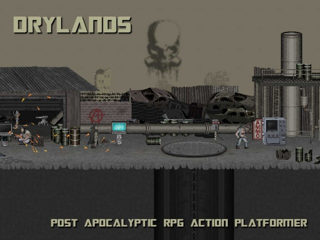 Survive a post-apocalyptic wasteland in Drylands