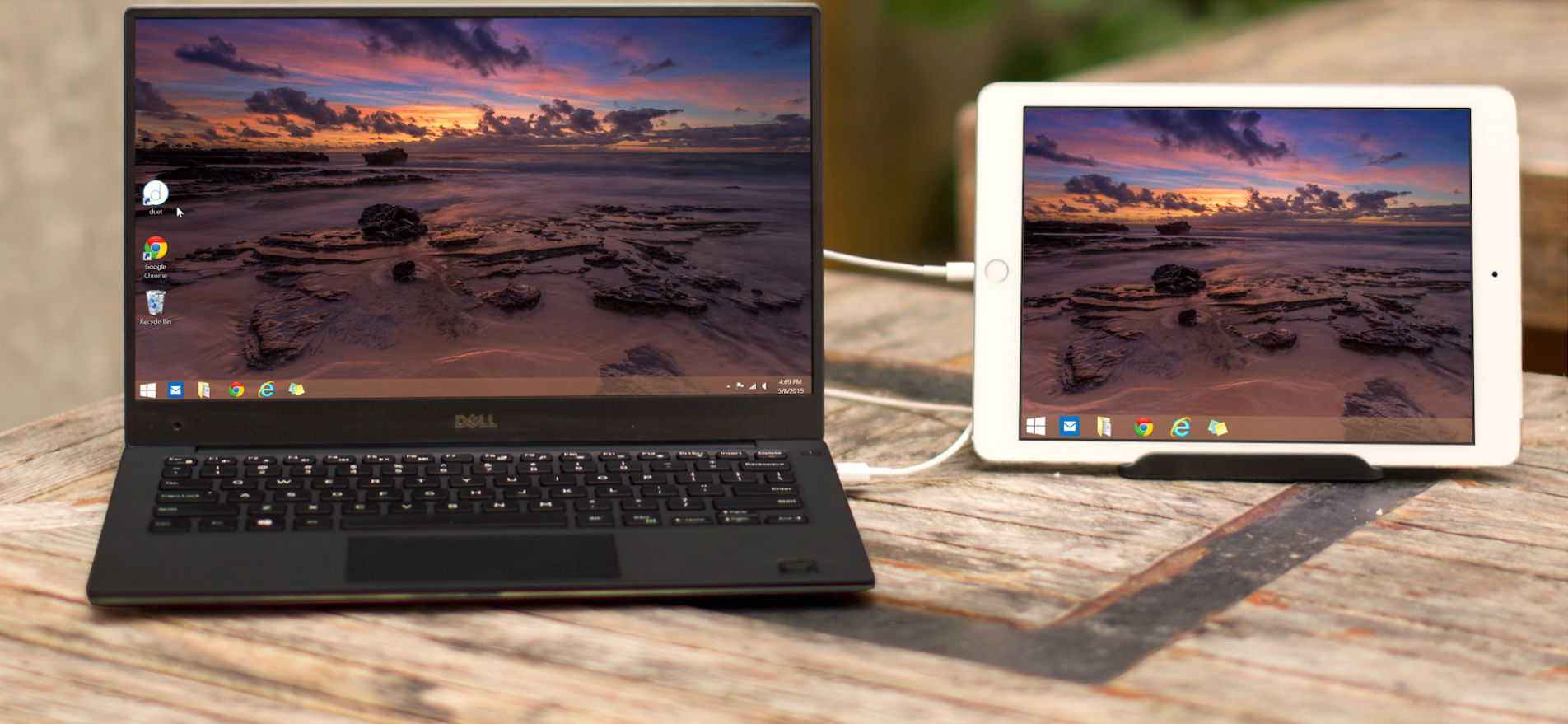You can now use the updated Duet Display app as a second screen for your Windows 7 or 8 PC