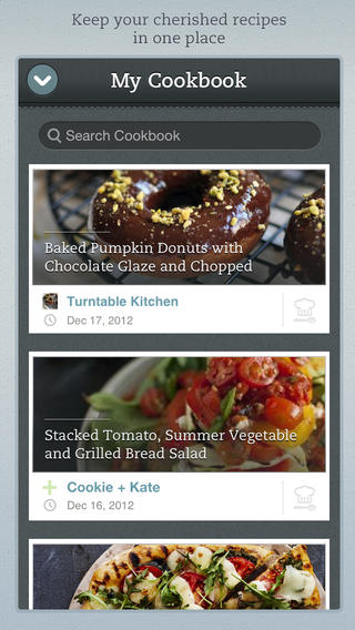 The 5 best cooking apps for your iphone fit men cook healthy recipes forumfinder Gallery