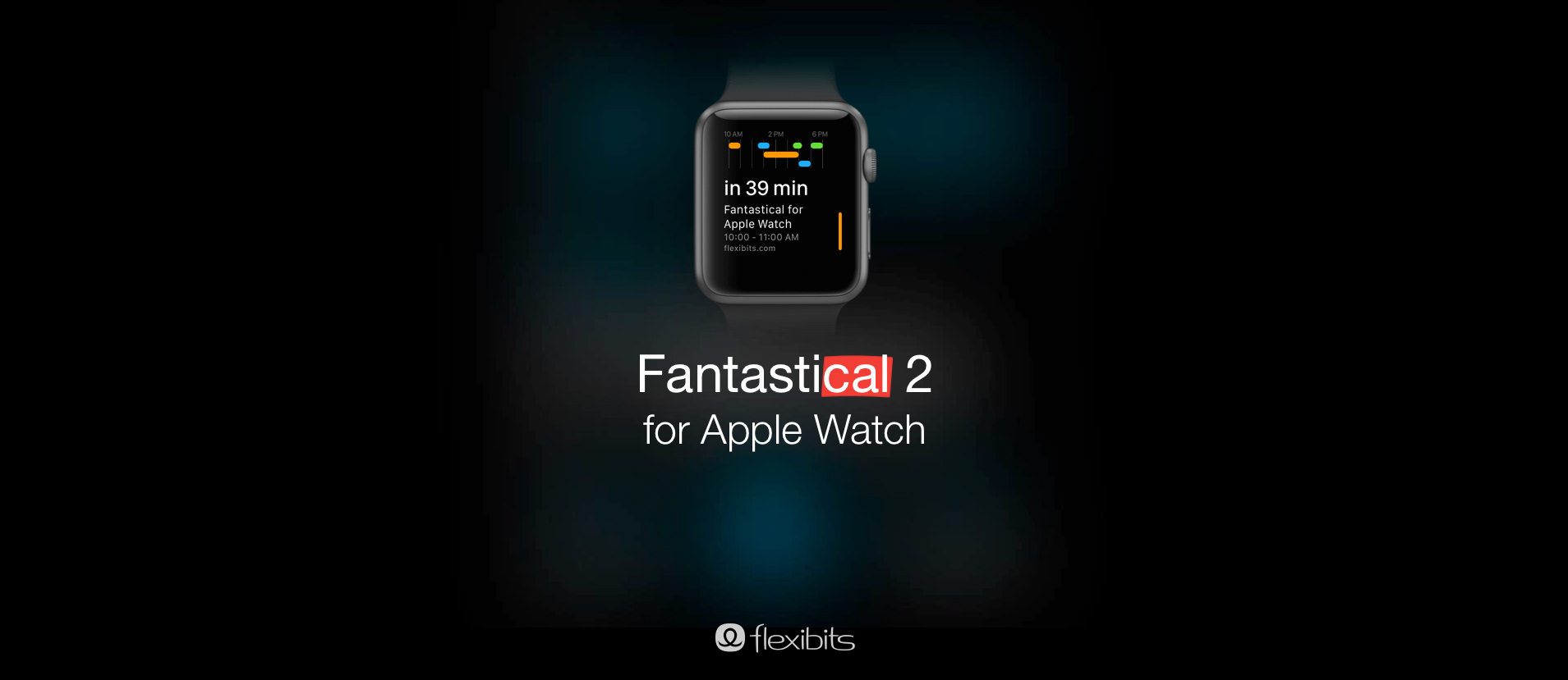 Flexibits teases an Apple Watch version of its Fantastical 2 calendar app