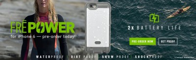LifeProof's Fre Power case for the iPhone 6 is now available to preorder