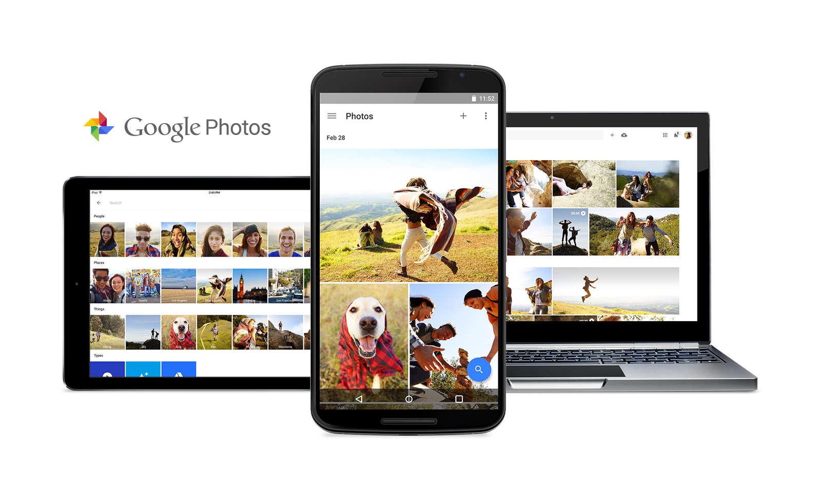 The new Google Photos service offers unlimited storage for your photos and videos