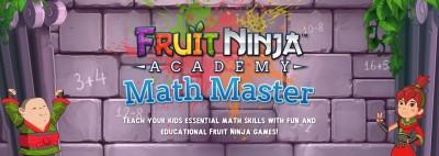 Halfbrick dares kids to slice their way through math challenges in Fruit Ninja Academy: Math Master