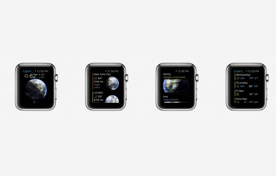 Beautiful clock and weather app Living Earth moves to the Apple Watch with a new update