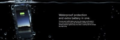 Take a swim this summer with Mophie's new waterproof iPhone 6 battery case, the Juice Pack H2PRO
