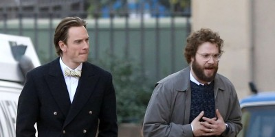 Watch the first trailer for Aaron Sorkin's Steve Jobs biopic