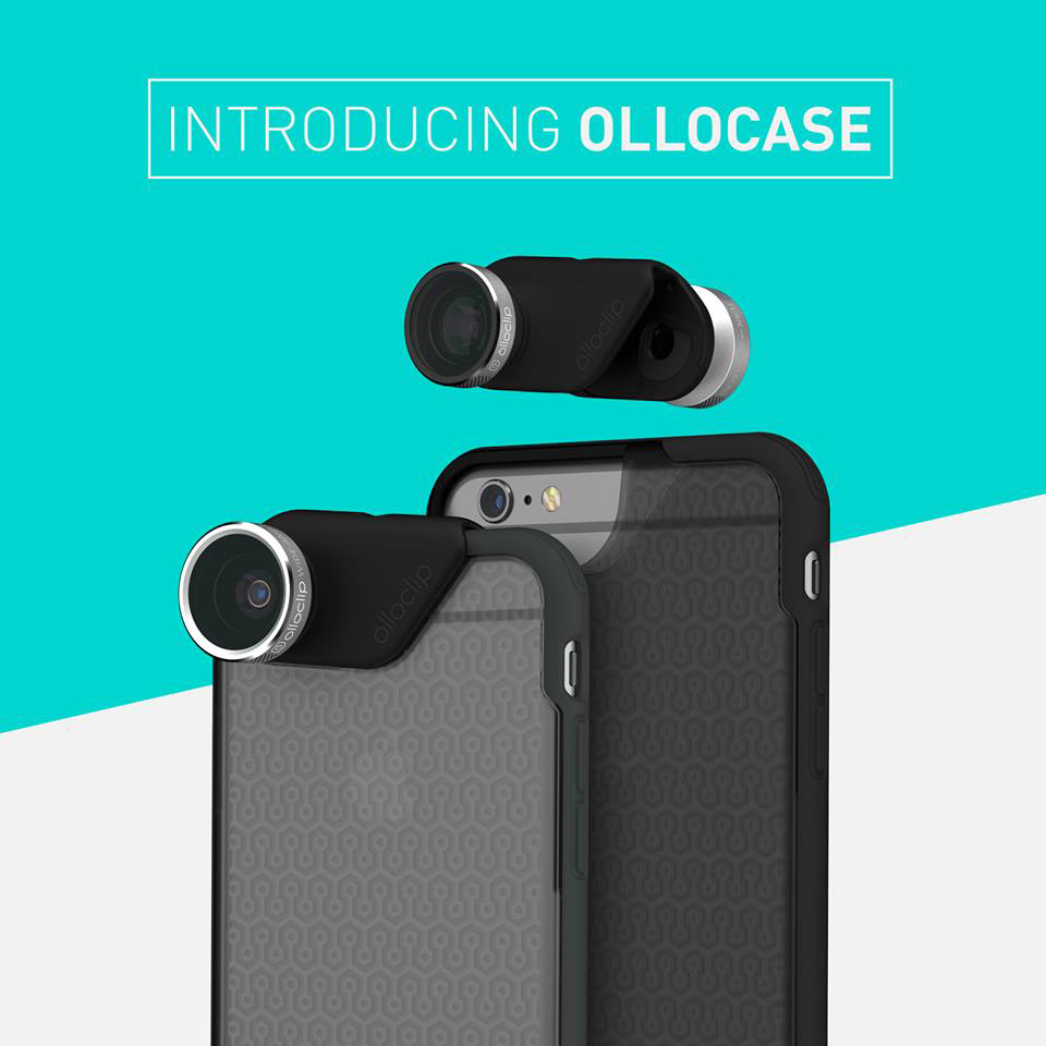Olloclip's new Ollocase is ready made for the company's powerful lens systems