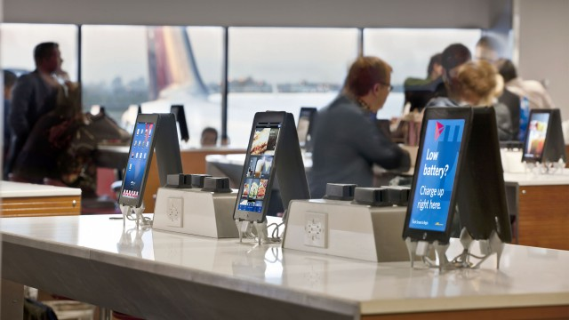 The future of restaurant management can be seen at the airport