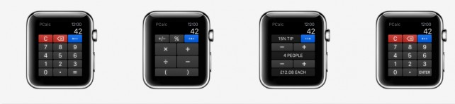 Calculator app PCalc makes the move to the Apple Watch with a new update