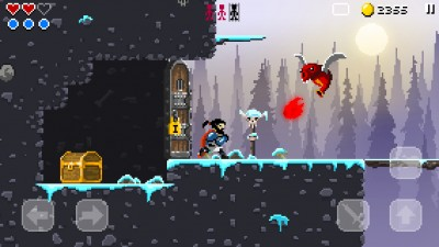 Save the villagers from the forces of darkness in Sword of Xolan, a retro action platformer