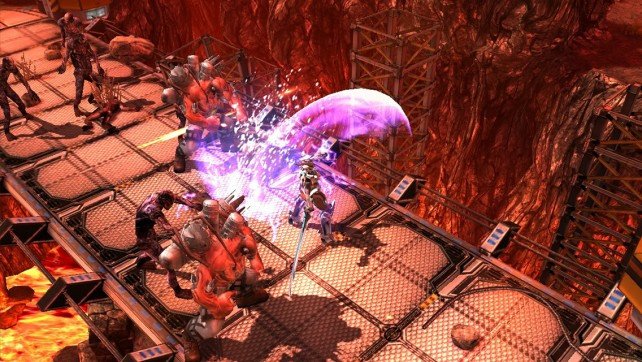 You are humanity's only hope in this amazing sci-fi mecha action game.