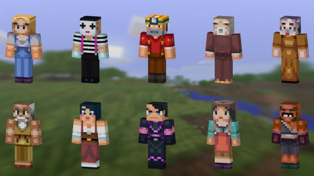 A new update for Minecraft – Pocket Edition, arriving soon, will bring skins and much more