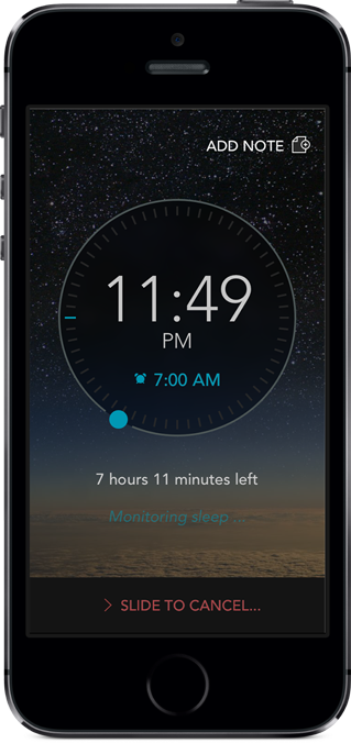 Sleep Science HQ tracks your slumber patterns and wakes you with soothing sounds