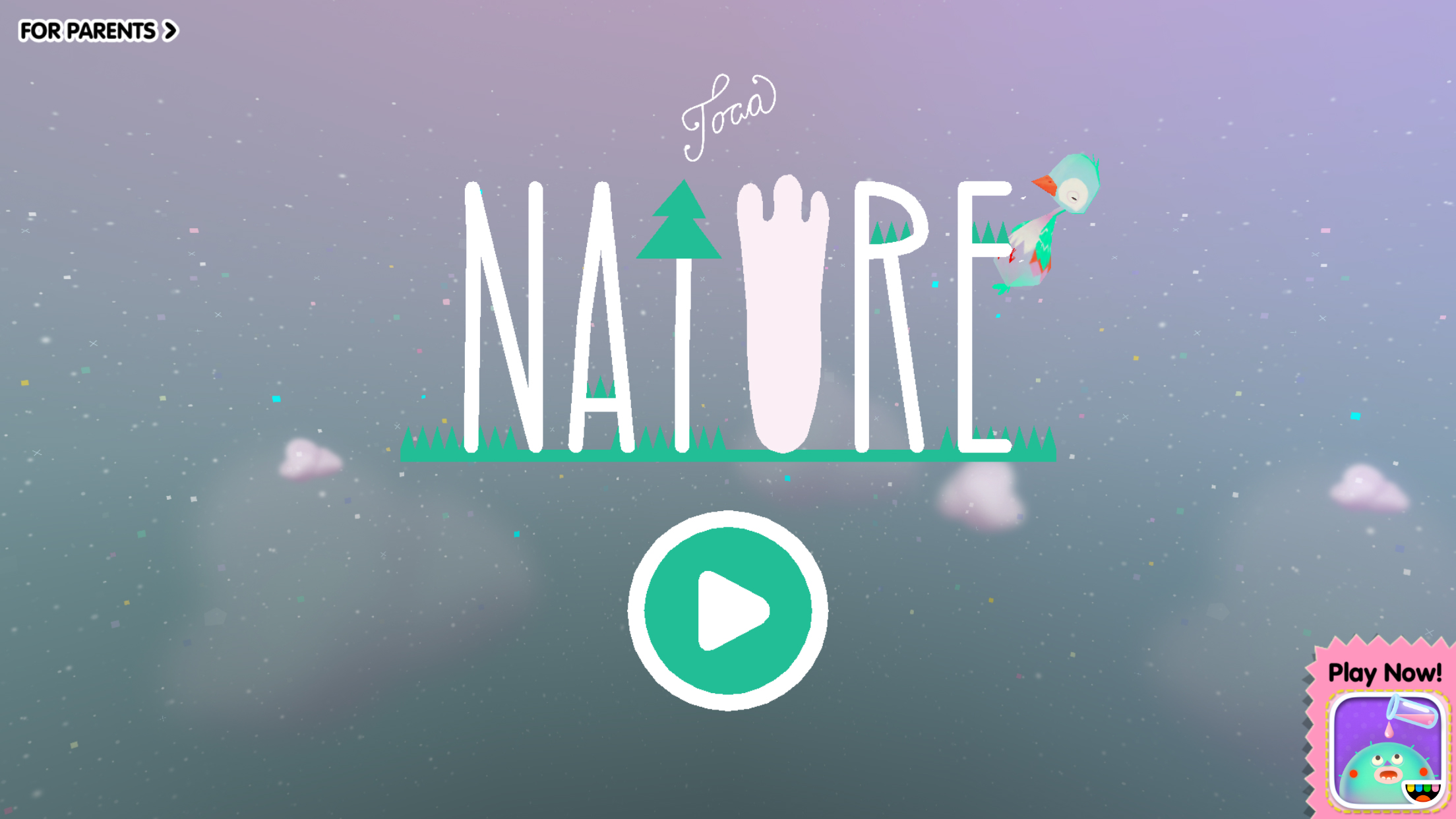 Fun and entertaining children's title Toca Nature is Apple's latest free App of the Week