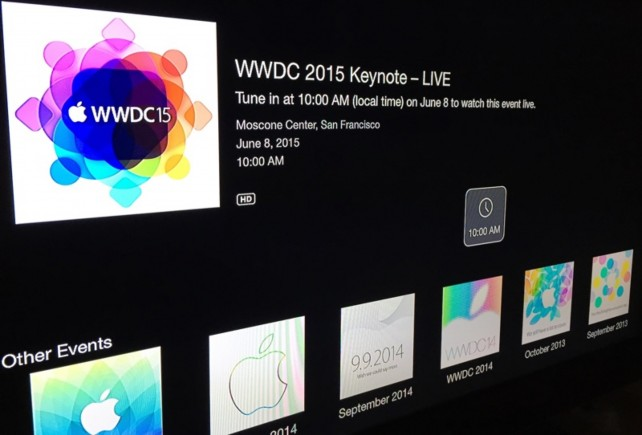 Apple confirms: WWDC keynote will be streamed from the Moscone Center