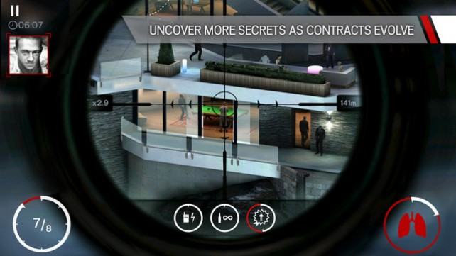 Hitman: Sniper for iOS.