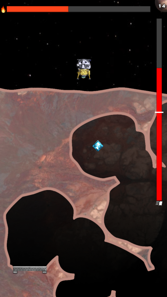 Planet Lander for iOS.