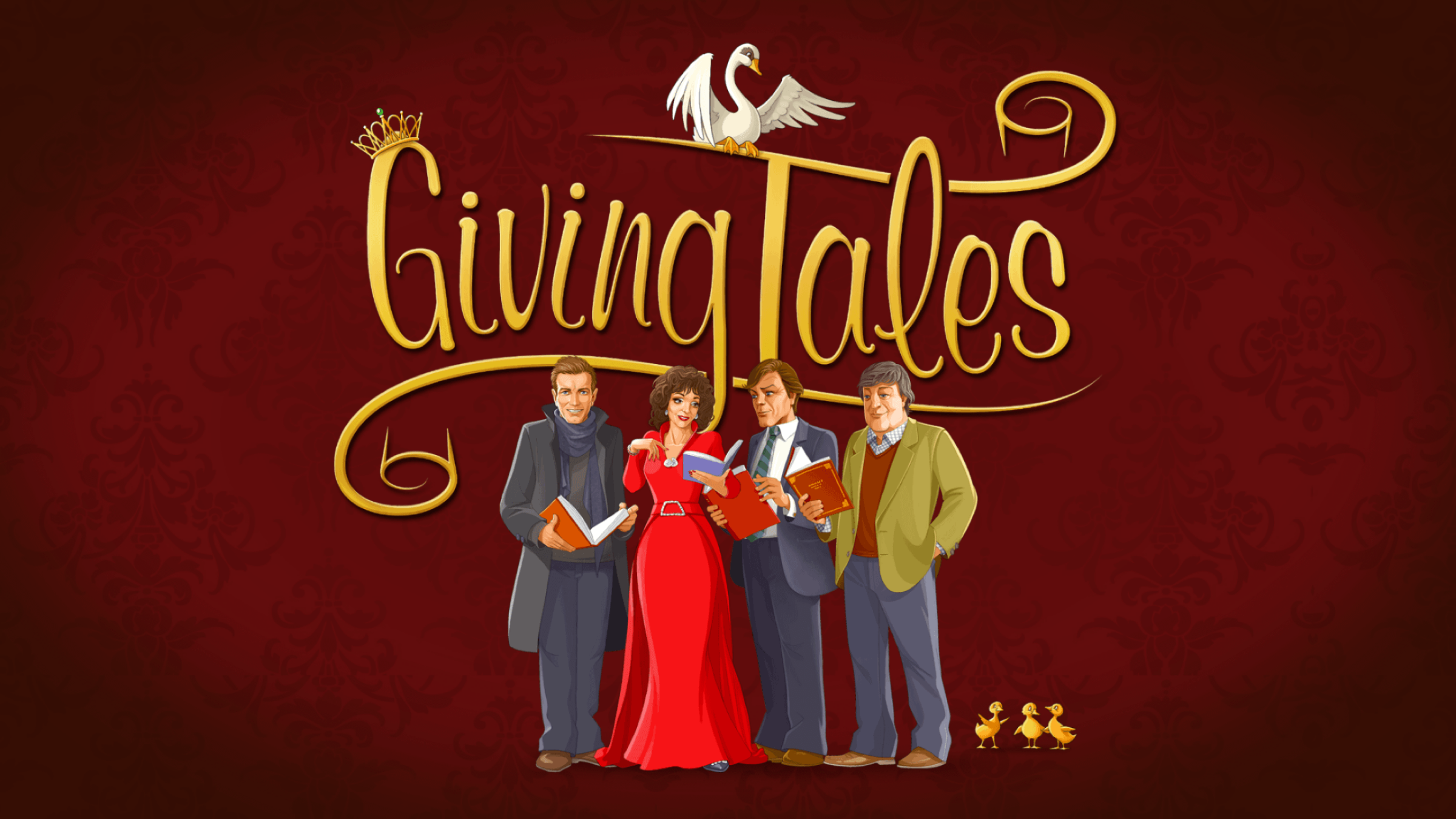 GivingTales features celebrity narrators, supports Unicef