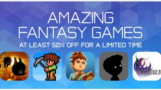 Badland, Oceanhorn and other 'Amazing Fantasy Games' are on sale on the App Store