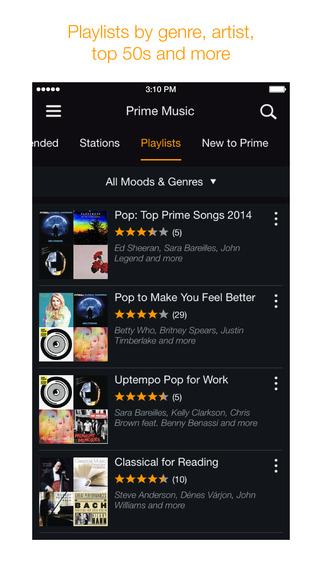 Amazon Music Playlists