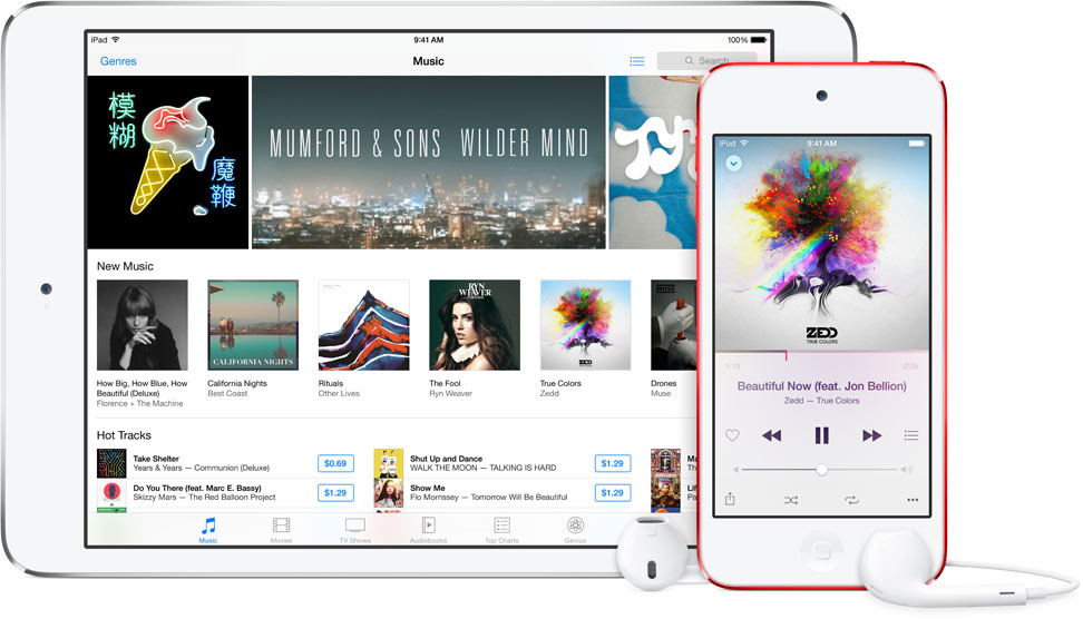 Apple Music on iOS