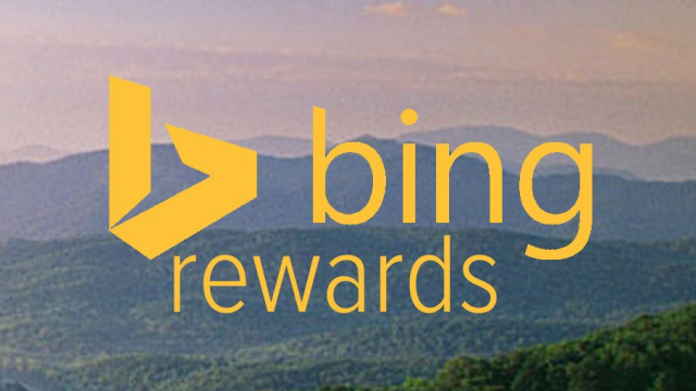 You can get rewarded for searching with Microsoft's Bing