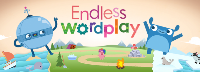 Alphabot helps your kids learn spelling in Endless Wordplay