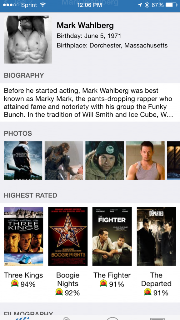 Flixster Highest Rated