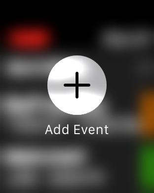 Force Touch in Fantastical 2 on Apple Watch