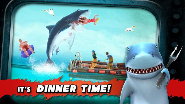 Hungry Shark Evolution Eat