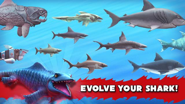 Hungry Shark Evolution Evolve