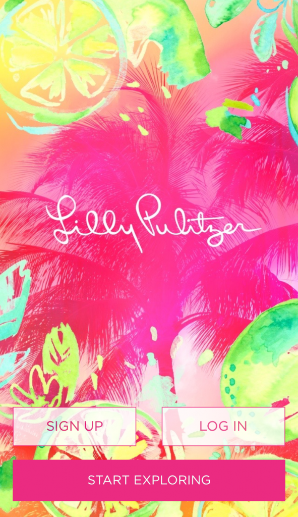 Get your daily squeeze with the new Lilly Pulitzer app