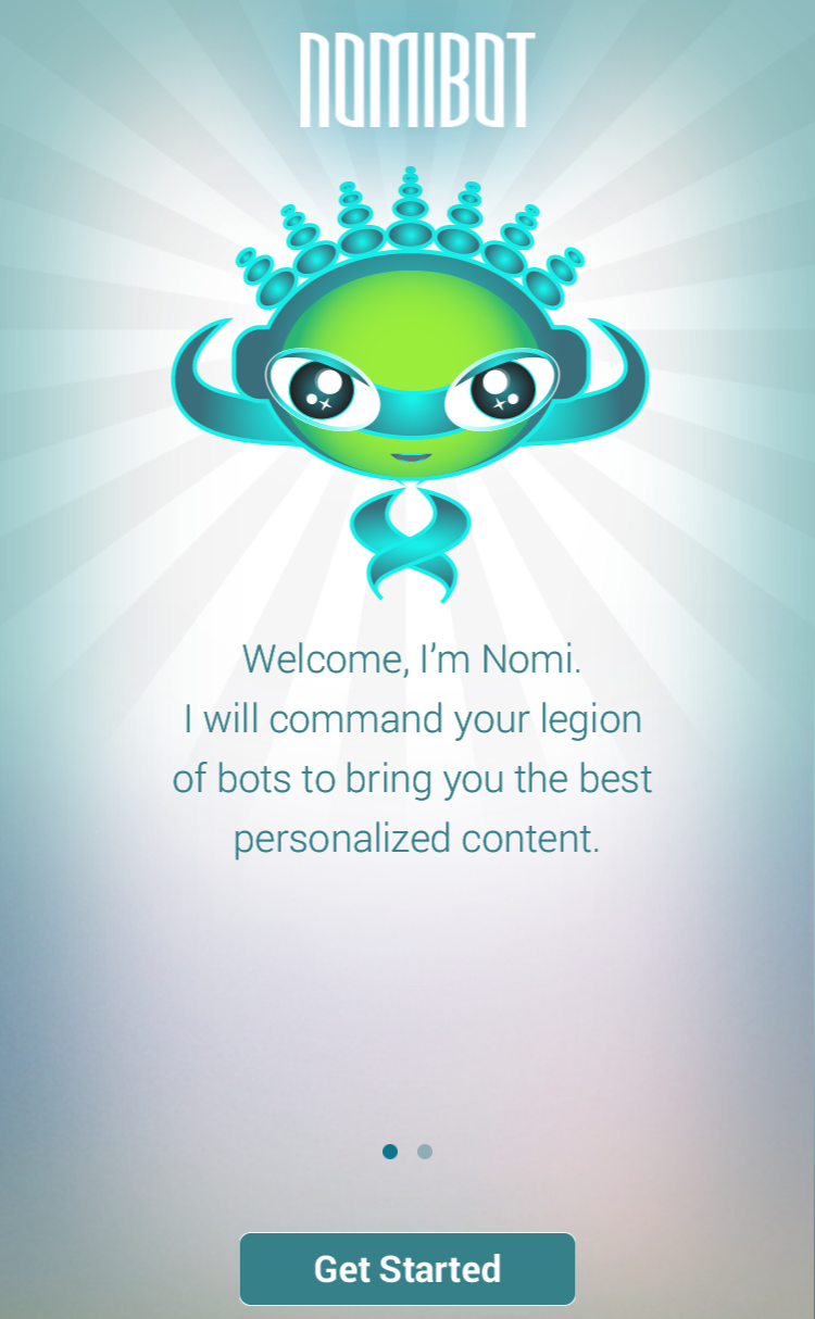 Deploy your bots for the news content you want with Nomibot
