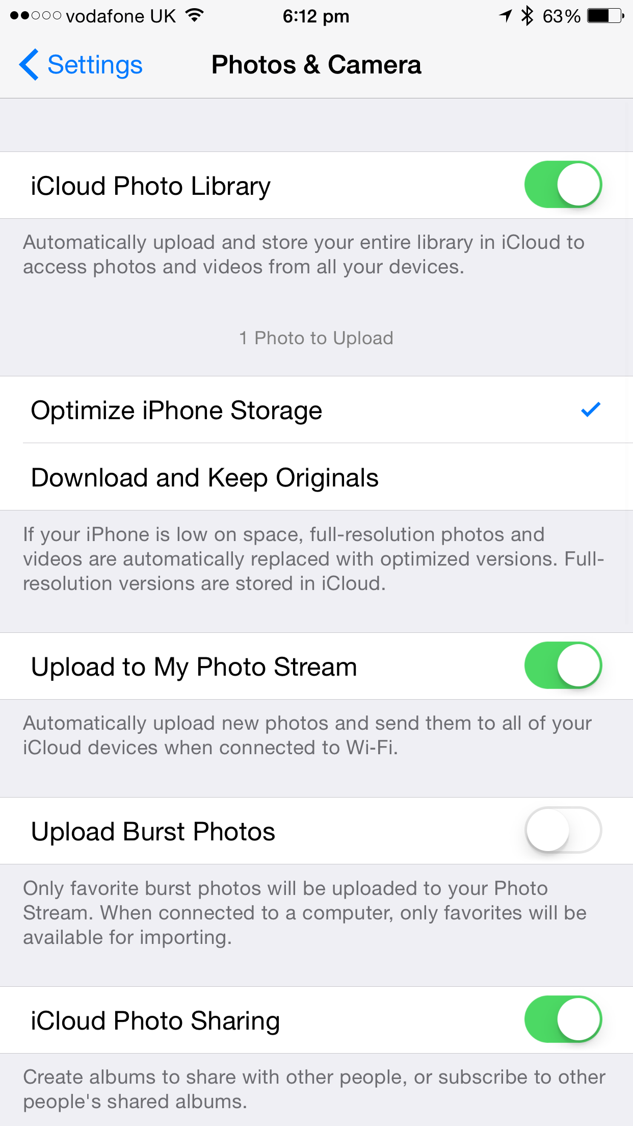 how to clean up my used storage on iphone