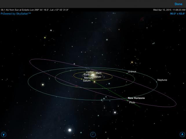 Pluto Safari Solar System